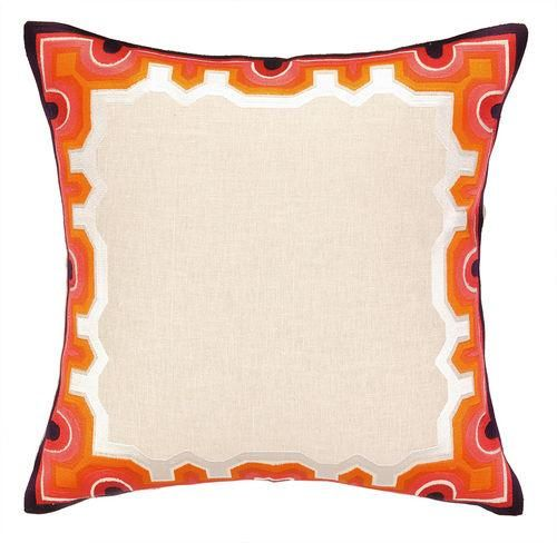 Stylish Notes on Decor :: Orange Crush Pillow, Trina Turk