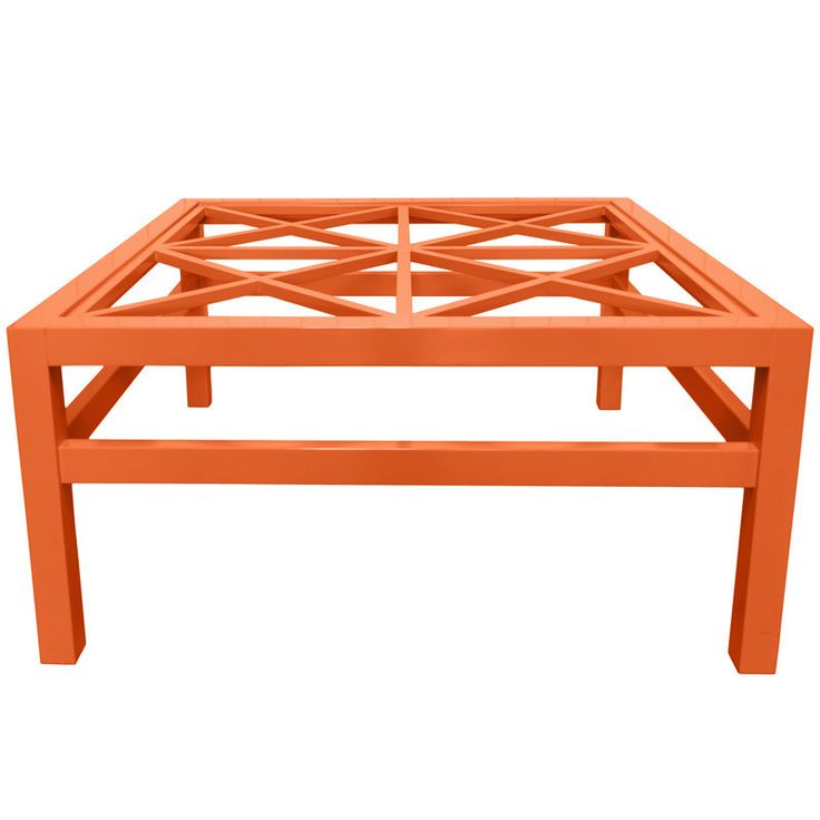 Stylish Notes on Decor :: Orange Crush Coffee Table, Scenario Home
