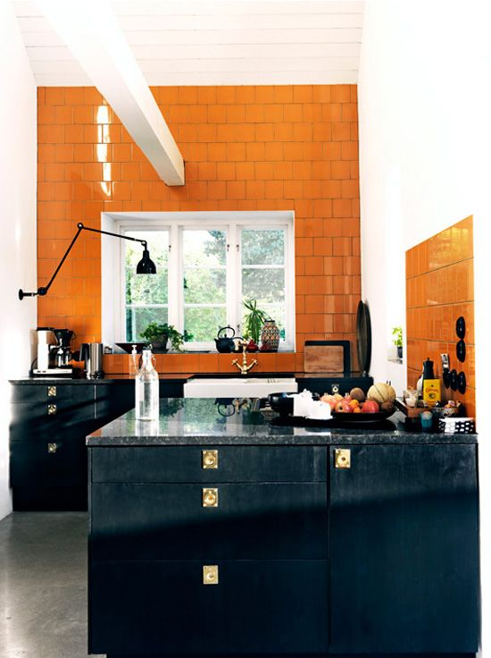 Stylish Notes on Decor :: Orange Crush Desire to Inspire