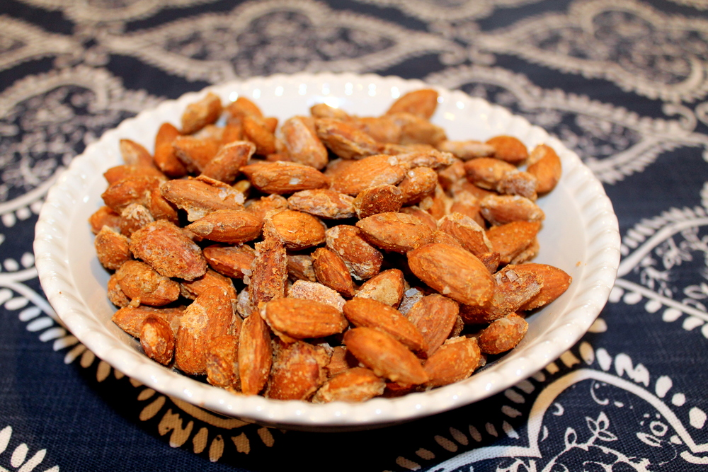 Spiced Almonds with Sea Salt     Image Jessica Gordon Ryan