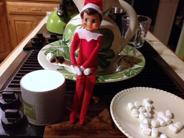 Elf on a Shelf ideas roperty The Entertaining House