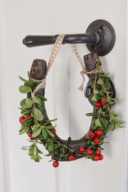 Equestrian Christmas Decor Image via At Home with the Bakers