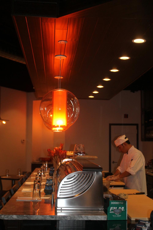 Soosh Restaurant on Summer Street in Stamford Image via The Entertaining House