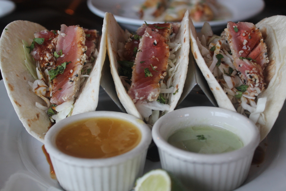 Tuna Tacos at Harbour House in Mystic, CT Images property of Jessica Gordon Ryan & The Entertaining House