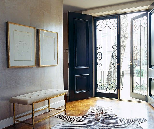The new neutrals- incorporating animal prints into your home decor       image  via