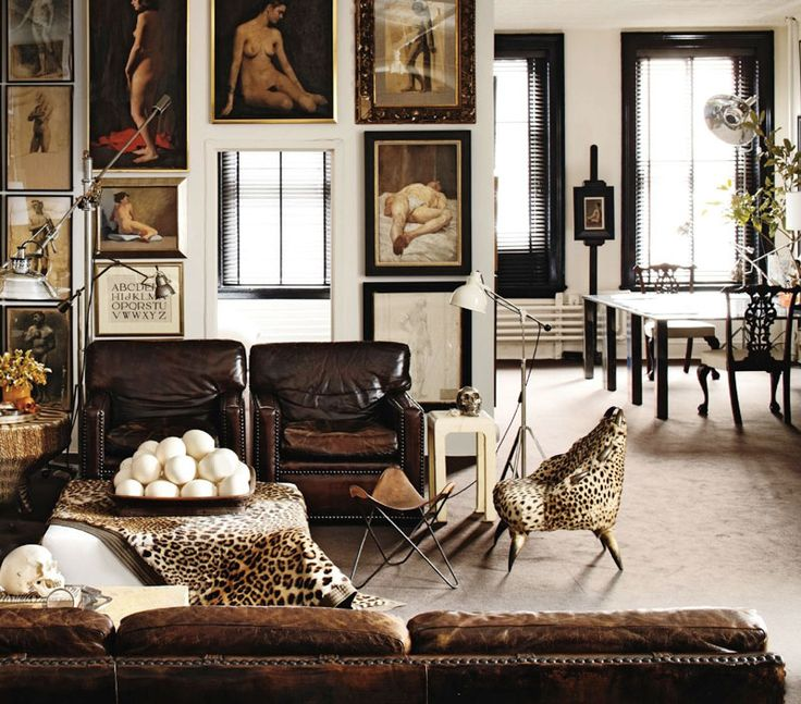 The new neutrals - how to incorporate animal print into your home decor image  via