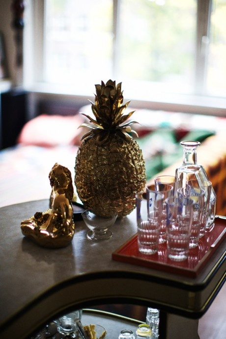 The history of the pineapple in interior design   - Image  via