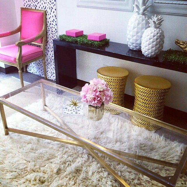 The history of the pineapple in interior design  - Image via  Instagram