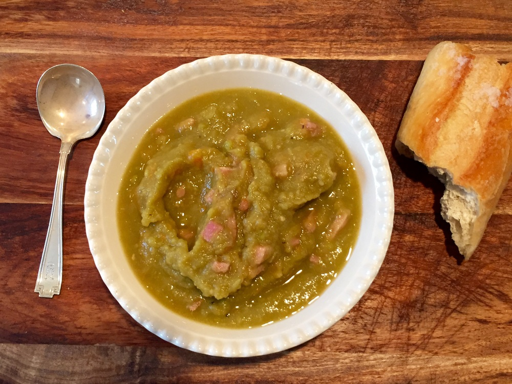 Quick, easy and healthy :: Split pea soup - Photo property Jessica Gordon Ryan