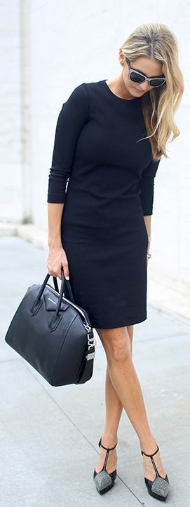 Is there a modern day woman who does not own at least one little black dress? A classic wardrobe must!