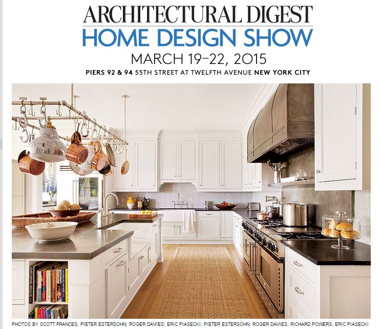 mar 22 kind finds from the 2015 architectural digest home design show - Home Design 2015