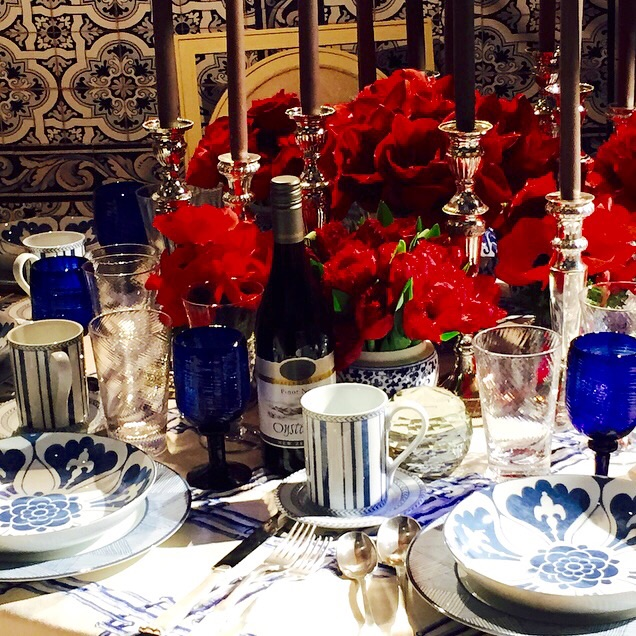 Detail of The Architectural Digest table for DIFFA's Dining by Design. Image via Jessica Gordon Ryan.