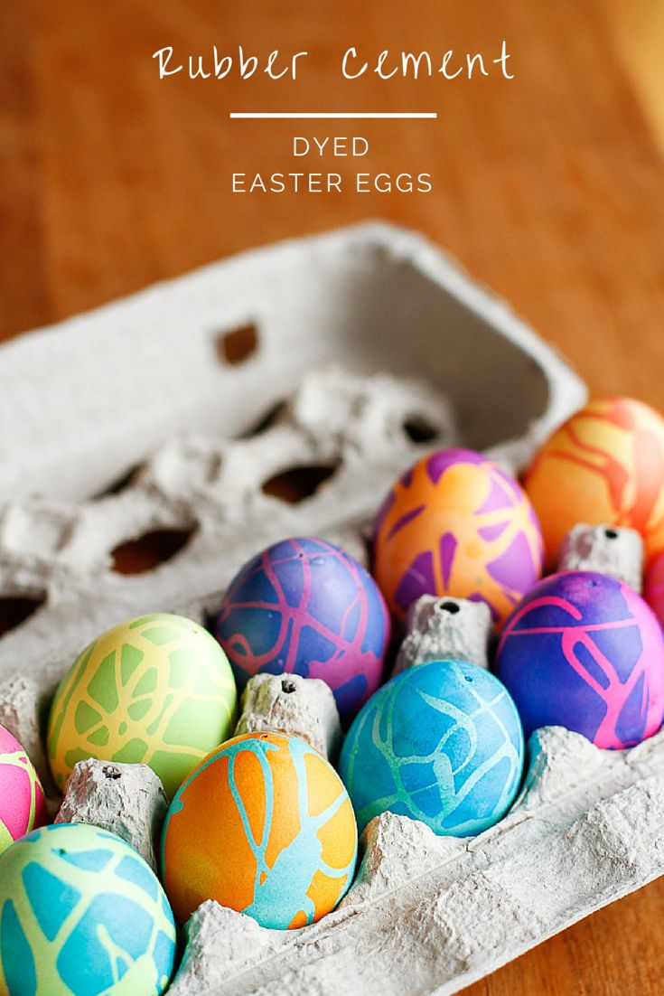 This idea from Unsophisticook, of using rubber cement to create a contrast, in my opinion, is positively brilliant, and I will be giving this a try when we paint our eggs later today. For instructions visit her  website .