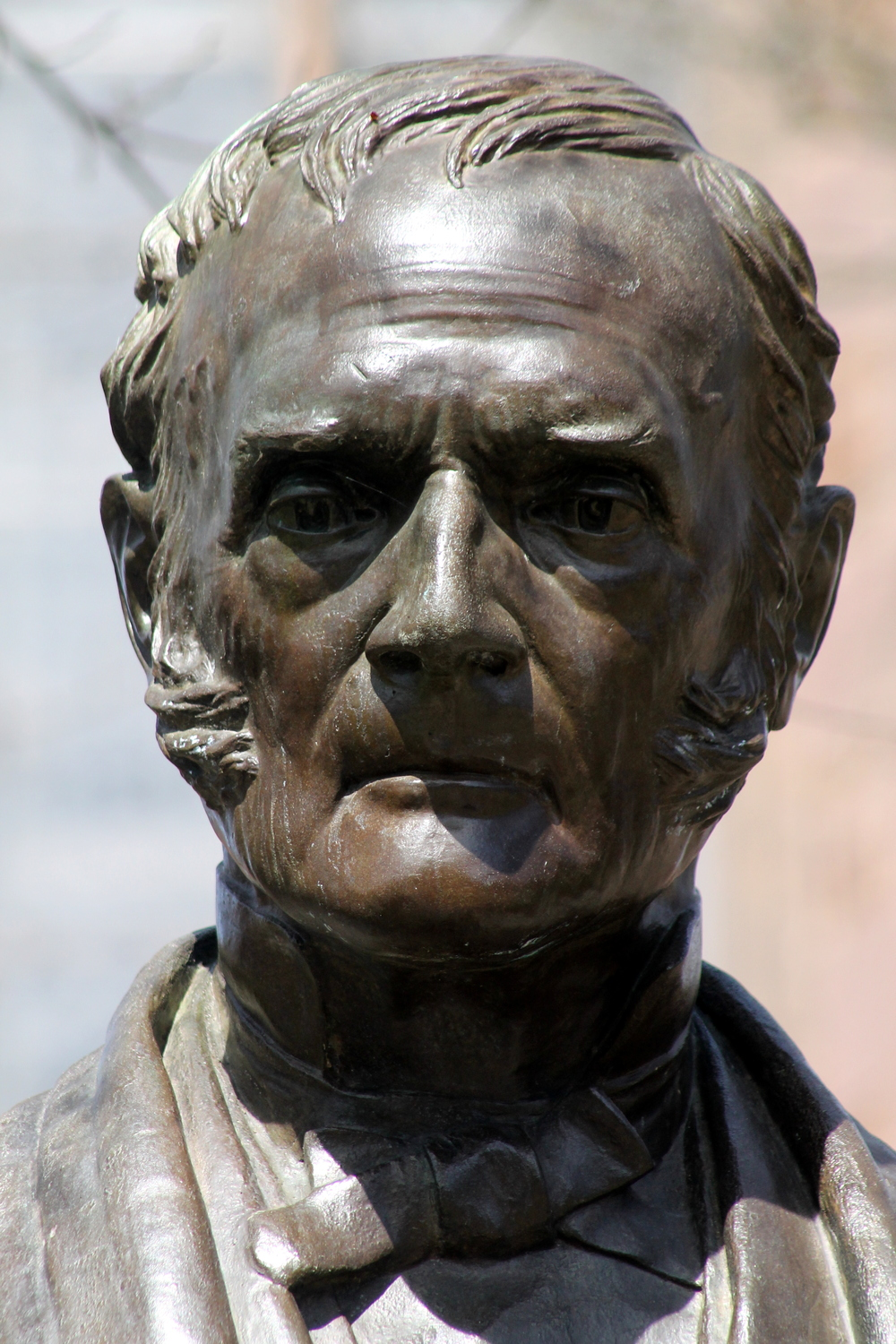 Yale University, Statue detail,Theodore Dwight Woolsey. Image property Jessica Gordon Ryan