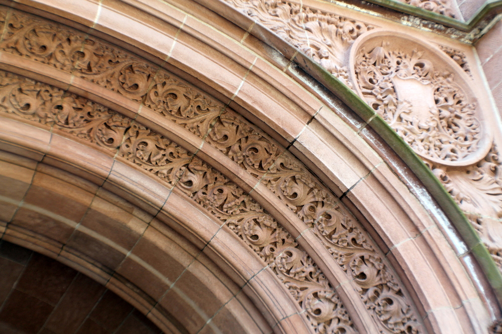 Yale University, Vanderbilt Hall, detail. Image property Jessica Gordon Ryan