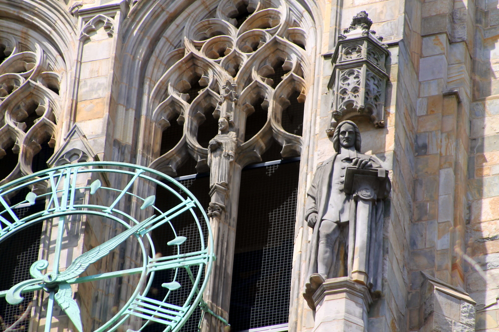 Church Detail.  Yale University. Image property of Jessica Gordon Ryan