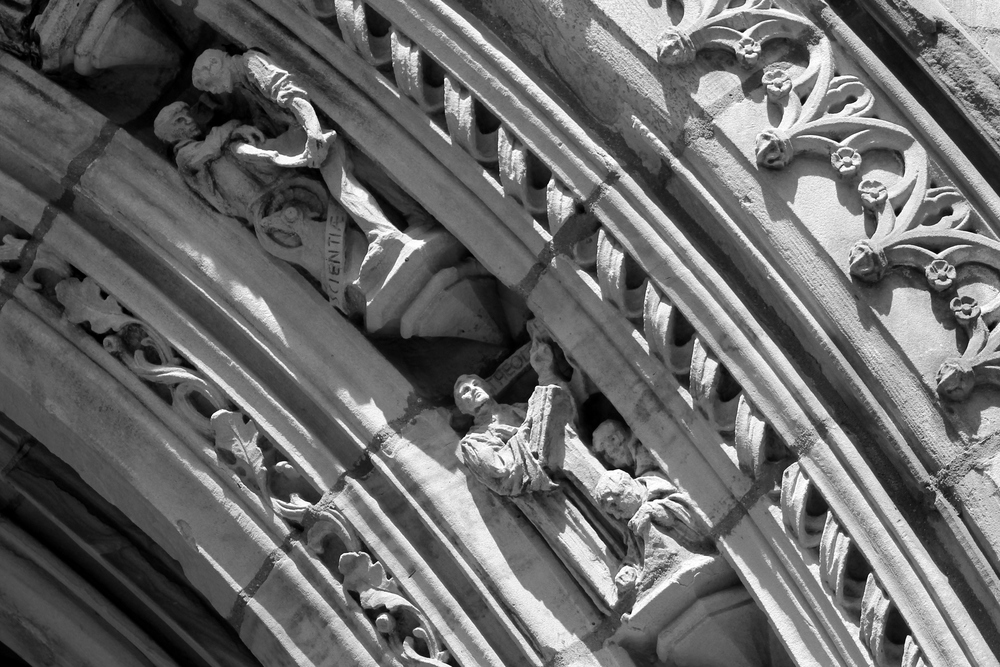 Architectural detail, Branford College, Yale University. Image Jessica Gordon Ryan