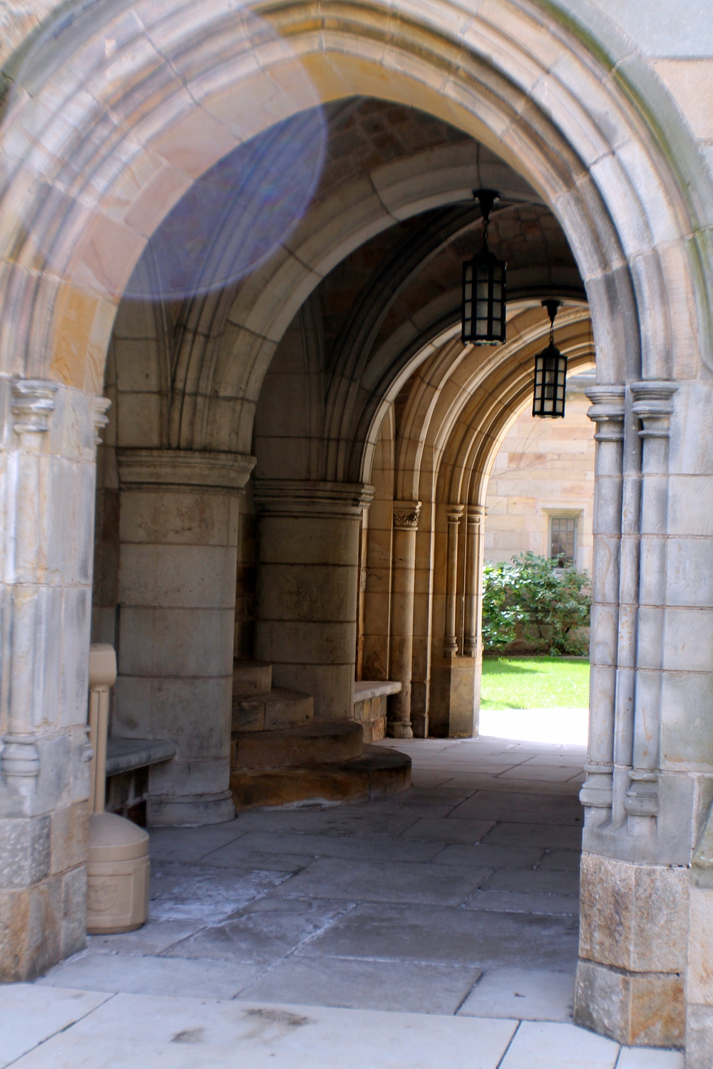 Architectural detail, Bran  ford College, Yale University. Image Jessi  ca Gordon Ryan