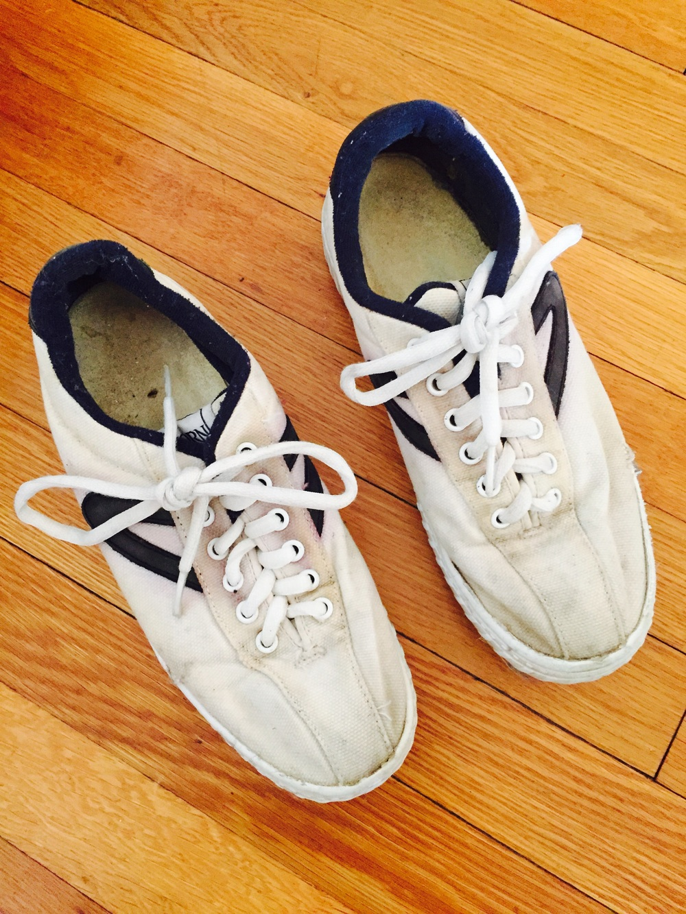 In praise of the little (white) sneaker
