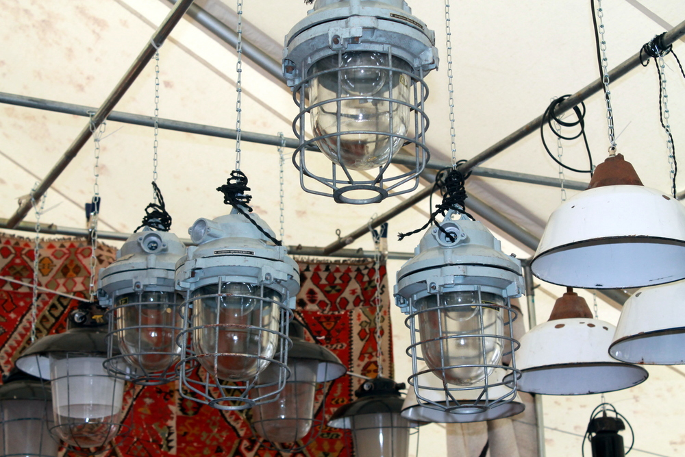 These light fixtures would accentuate any space from workroom to home office to kitchen to common living area.
