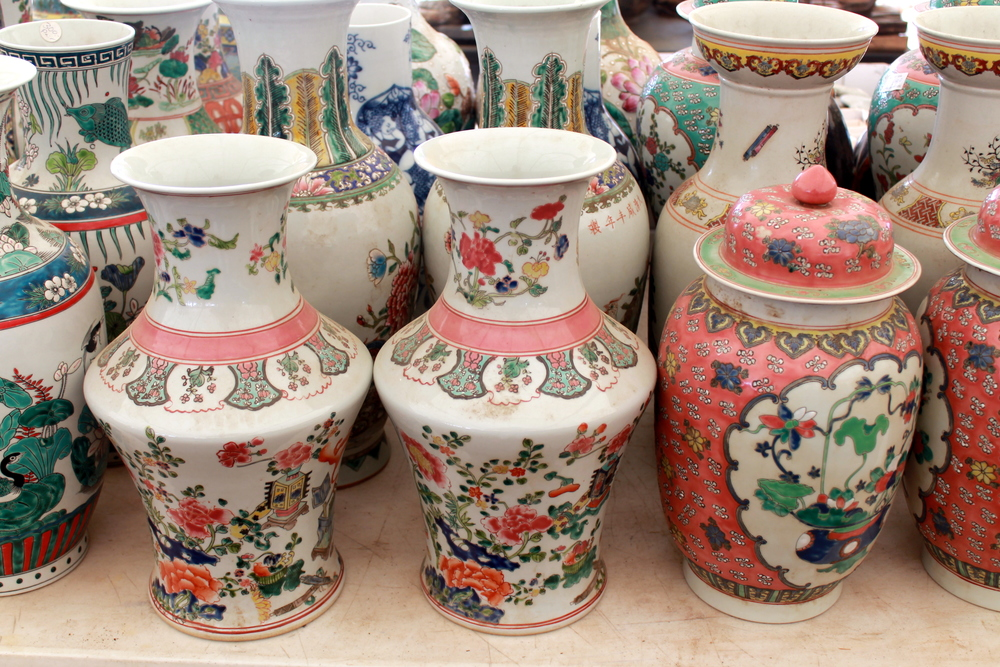 Ginger jars and all things Chinoiserie are always in style. Look for good reproduction at local flea markets.
