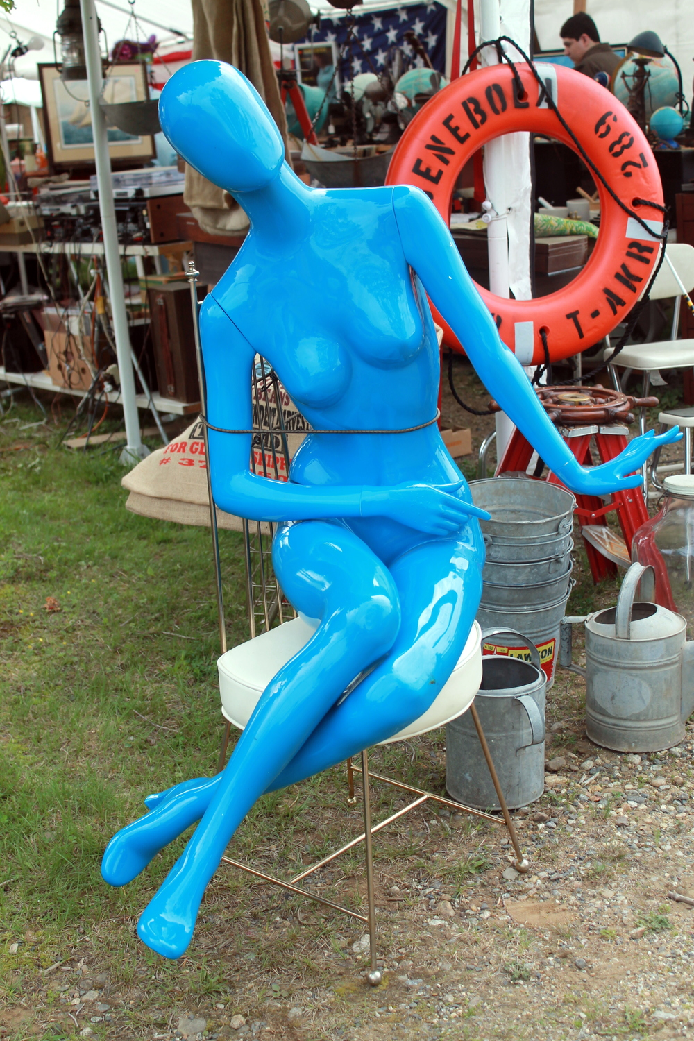 The odd and whimsical finds at Brimfield
