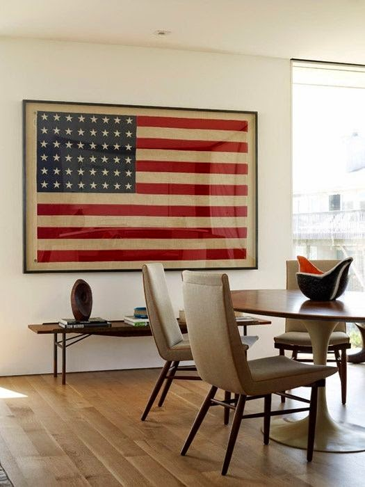 New uses for old things The American flag is the