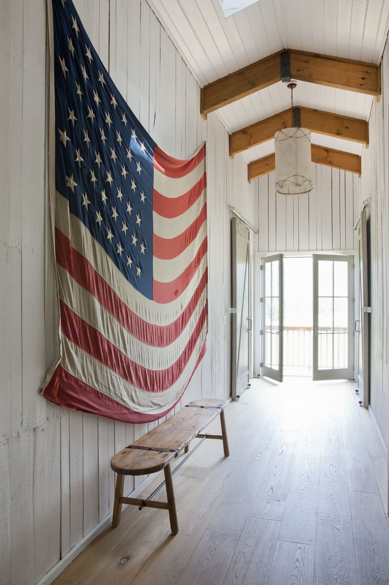 New uses for old things :: The American flag is the consummate home ...
