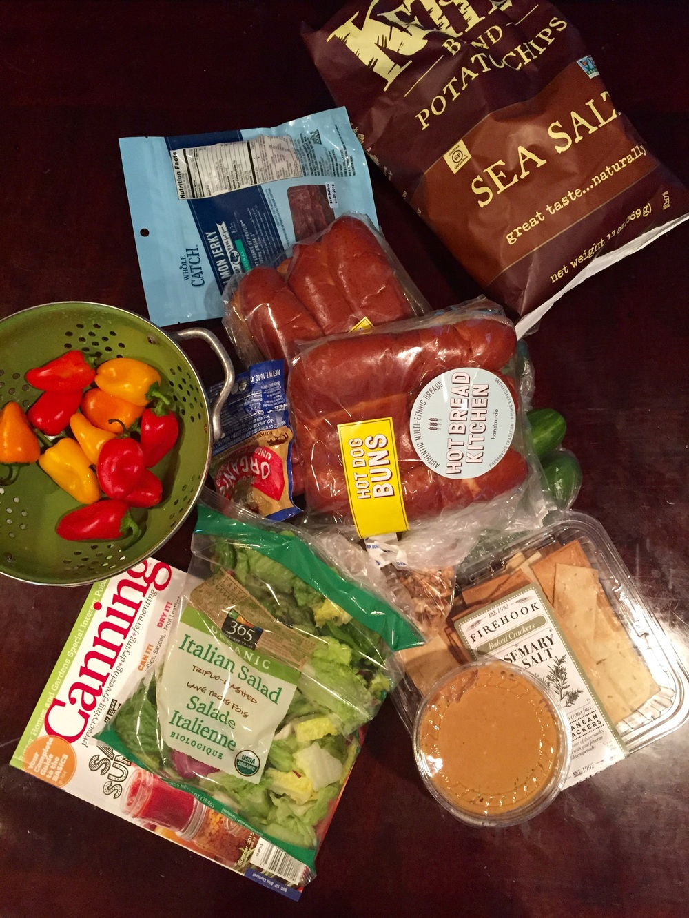 What $70 gets you at Whole Foods. As you can see, not much! Photo property Jessica Moseley Gordon