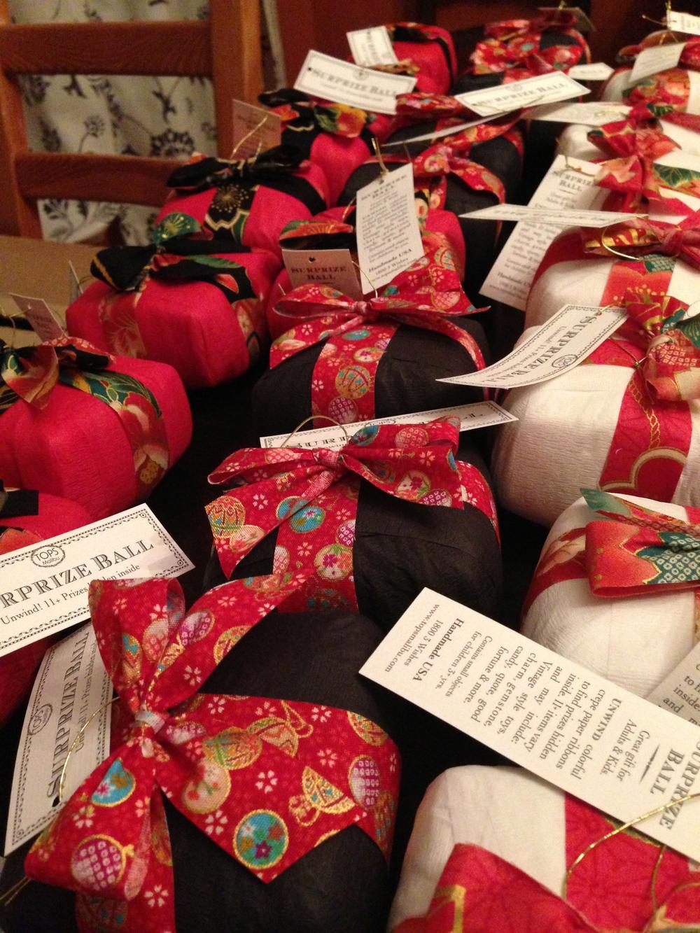 Party Prizes! Image via Bettie Bearden Pardee