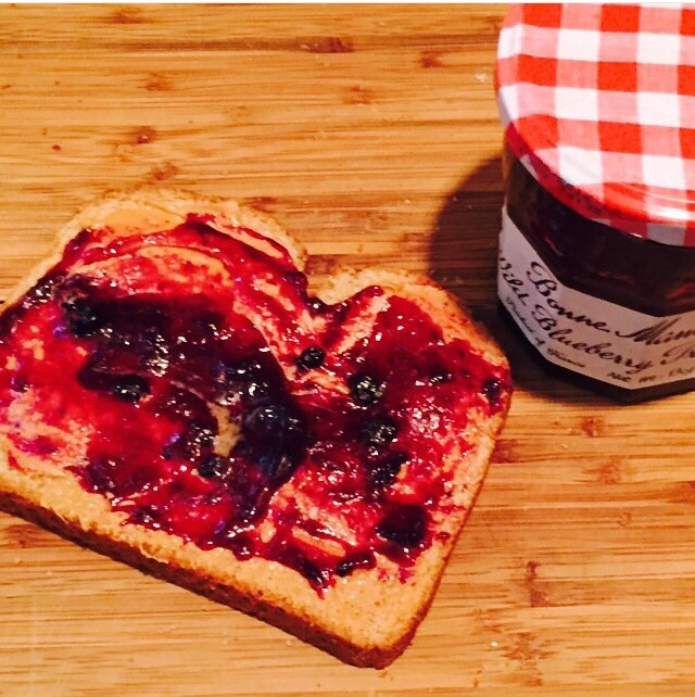 Peanut Butter and Jelly - Image property of Jessica Moseley Gordon