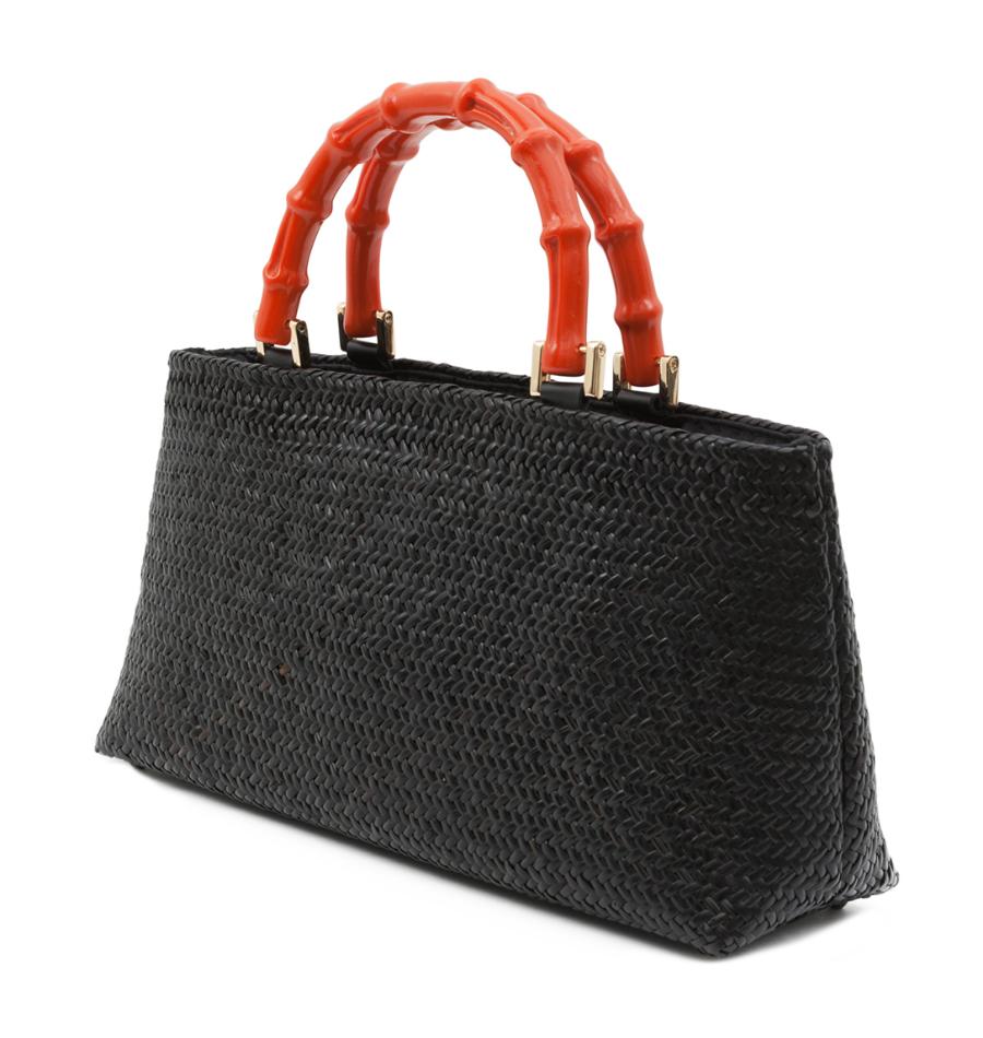 Halsbrook Bags, Kayu, Malta Black Strap, $320