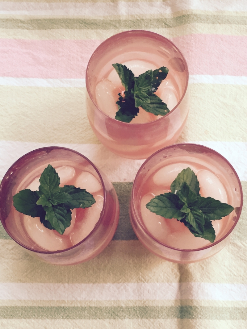 Watermelon agua fresca. Image via The Entertaining House.