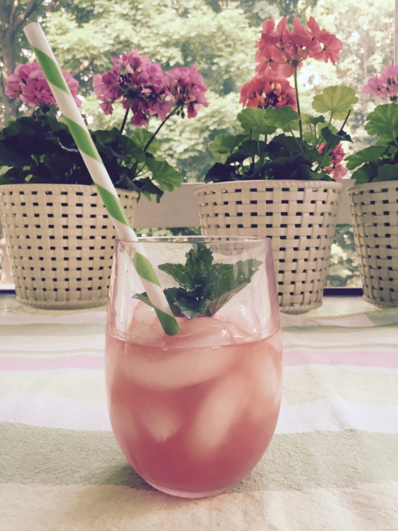 Watermelon agua fresca. Image via The Entertaining House