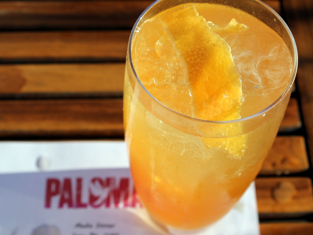 The Paloma Margarita. Paloma, Stamford CT. Image via Jessica Moseley Gordon