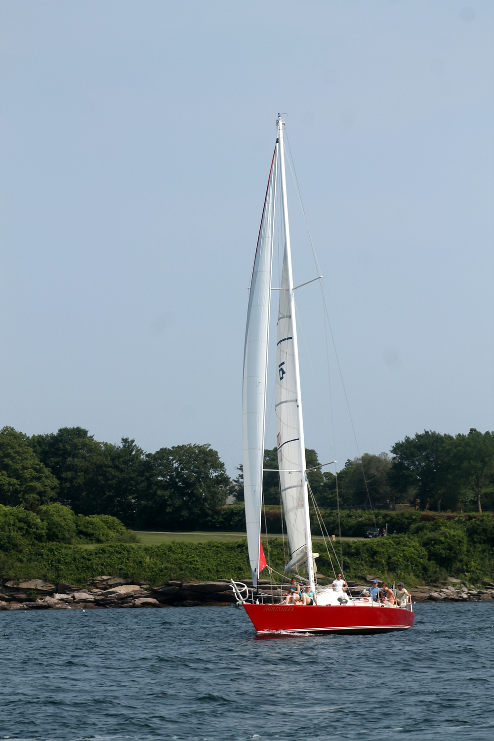 Charter a sailboat in Newport, Rhode Island. Image via Jessica Gordon Ryan