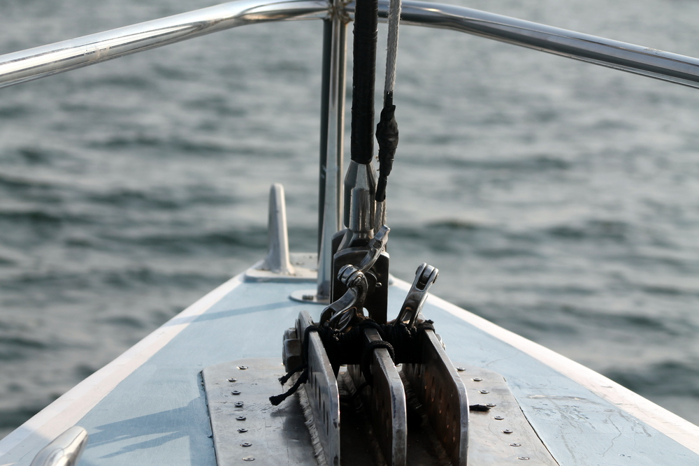 Aboard the Nefertiti, America's Cup Charters. Image Jessica Gordon Ryan
