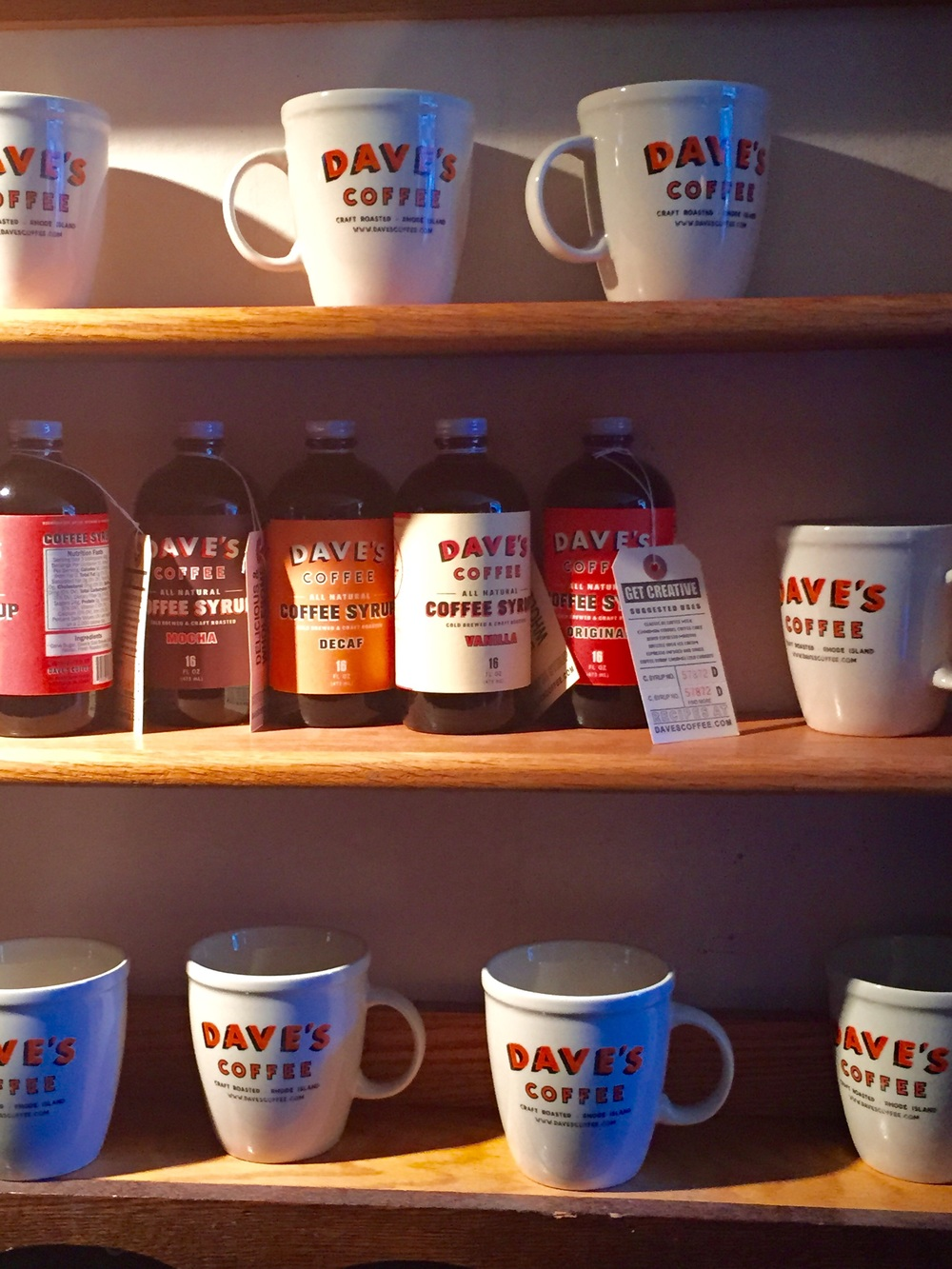 Dave's Coffee, Charlestown, RI. Image Jessica Gordon Ryan
