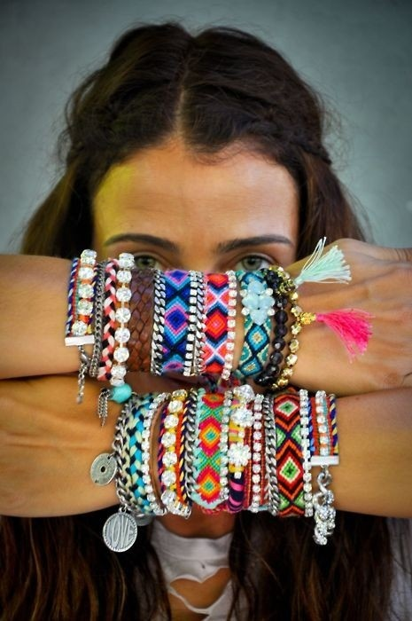 Hippie Chic Style. Image via Thefashionholics.com The Entertaining House