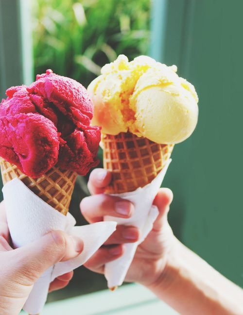 September is still ice cream cone time! Image via Gianna and Company