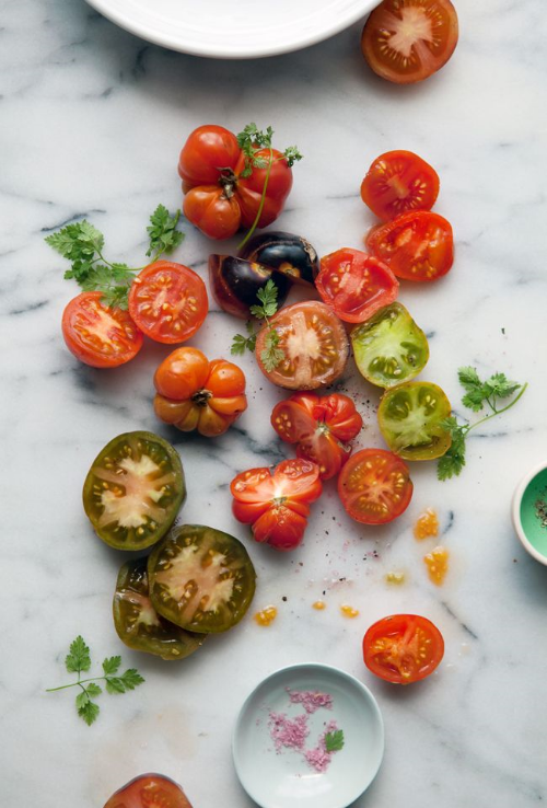 September is still tomato season! Image via Canellevanille