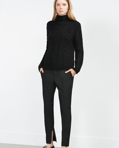 Masculine Trouser by Zara