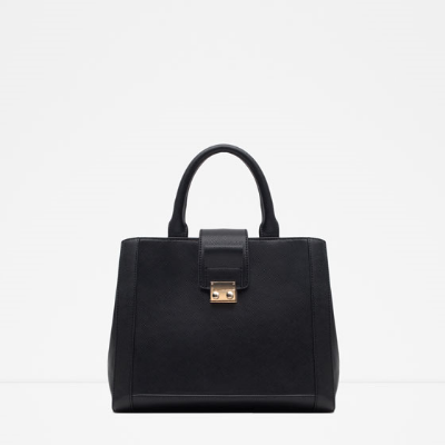 Square City Tote by Zara