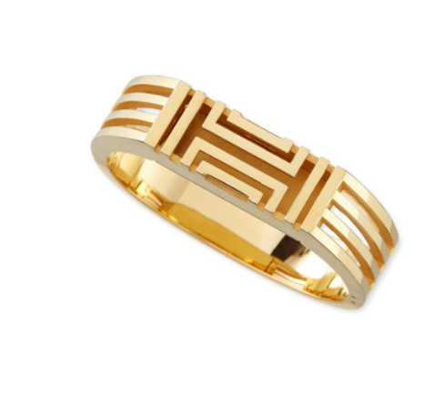 Fit Bit Bracelet coverlet via Tory Burch
