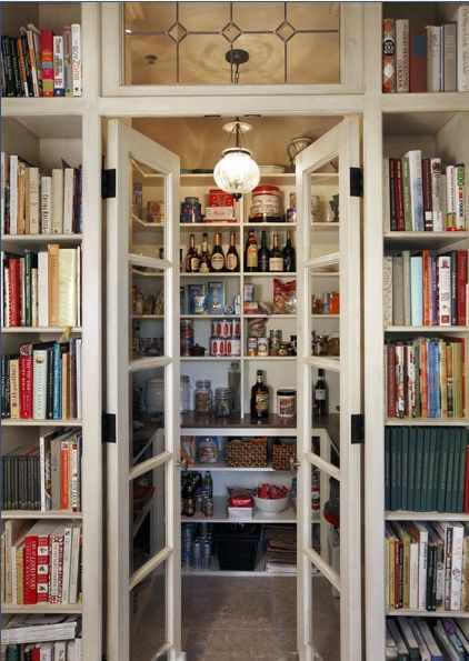 What every Fall Pantry needs. The Entertaining House. Image via Babble