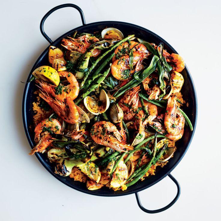 Dinner Party Inspiration :: Seafood Paella — Jessica Gordon Ryan