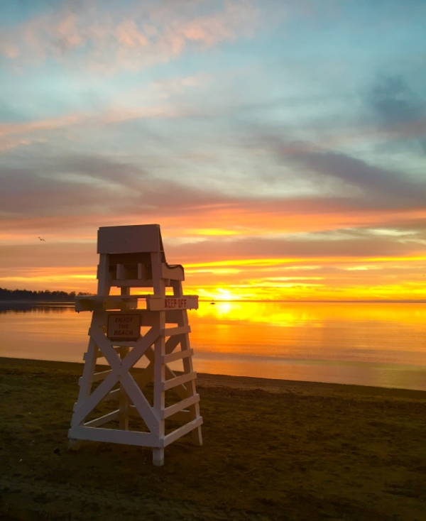 Early Morning Sunrise :: Why waking early is the greatest gift there is. Southport, CT