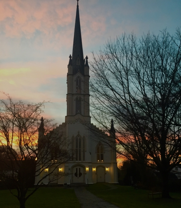 Early Morning Sunrise :: Why waking early is the greatest gift there is - Trinity Episcopal Church, Southport, CT
