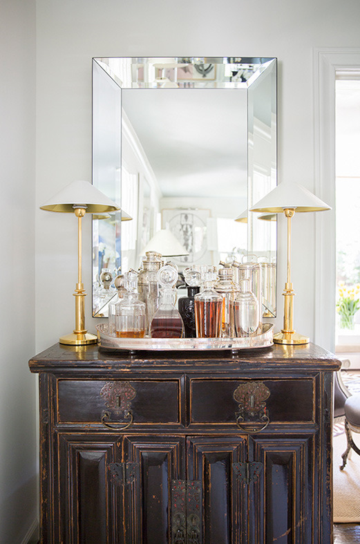 20 Stirring Ideas for Creating a Stunning at home Bar. Image Luxe Magazine