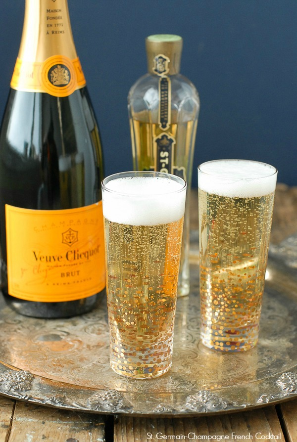 St. Germain Cocktails. Via The Entertaining House. St. Germain and Veuve... have you seen a more perfect pairing?  Via BOULDER LOCAVORE